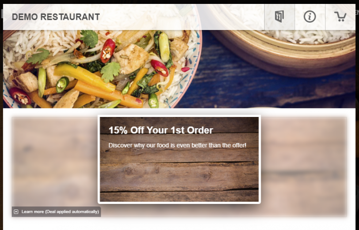 RINCS IT-Online Food Ordering Platform