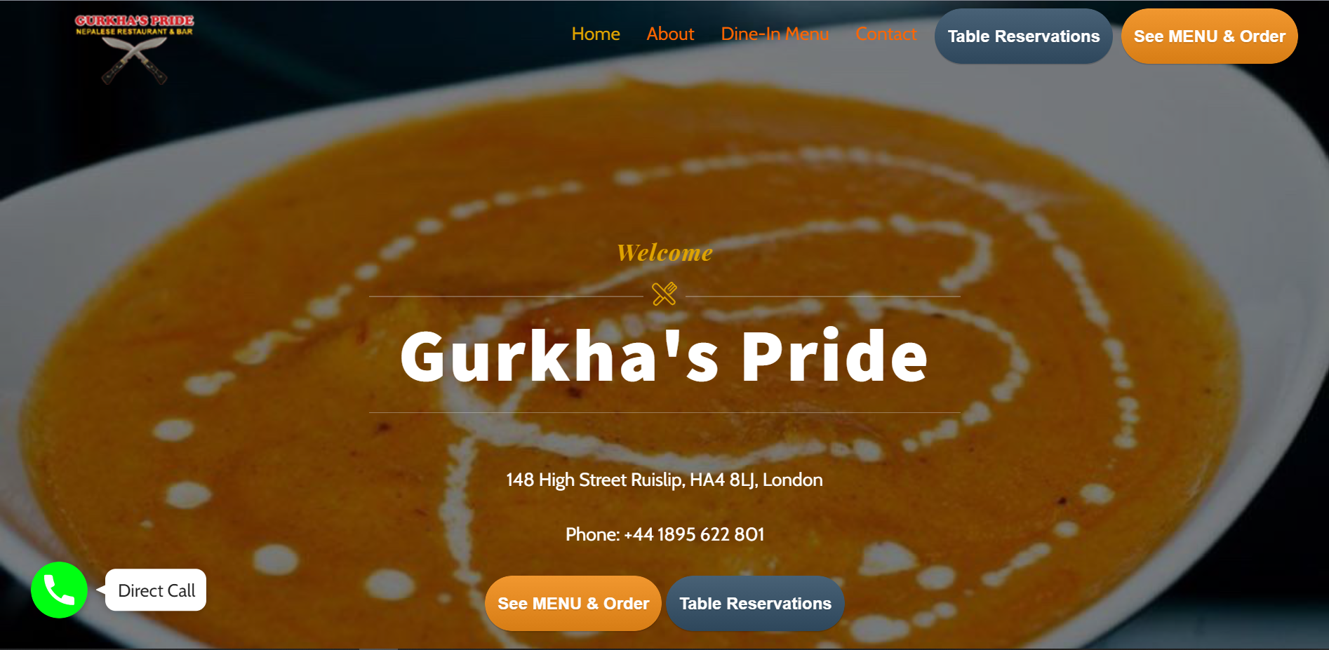 Technical Solutions for Gurkha's Pride Restaurant